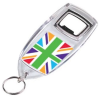 Bottle Opener Keyring - Union Jack