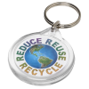 Round Promotional Keyring - Full Colour