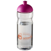 Base Sports Bottle - Domed Lid - Clear