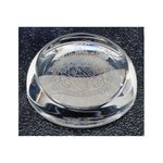 Sloping Dome Paperweight - Engraved