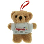10cm Tiny Teddy with T-Shirt