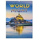 Wall Calendar - World By Night