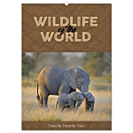 Wall Calendar - Wildlife of The World