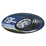 Tyre Brite-Mat Coaster - Round
