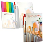 Bic Sticky Notes Booklet with Page Flags & Mini Bic Pen