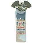Animal Bug Bookmarks - Elephant