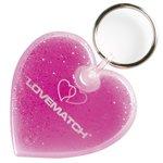Aqua Keyfob - Heart