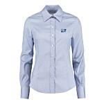 Kustom Kit Lady Fit Corporate Oxford Shirt - Long Sleeve