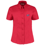 Kustom Kit Lady Fit Corporate Oxford Shirt - Short Sleeve