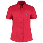 Kustom Kit Lady Fit Corporate Oxford Shirt - Short Sleeve
