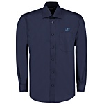 Kustom Kit Mens Business Shirt - Long Sleeve