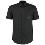 Kustom Kit Mens Business Shirt - Short Sleeve