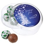 Maxi Round Sweet Pot - Christmas Design