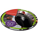 Q-Mat Promotional Mousemat - Round - Full Colour