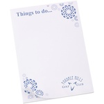 A6 Notepad - Flowers Design
