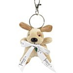 Dog Keyring - Bow