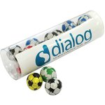 Tube of Chocolate Footballs
