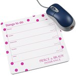 Mousemat Notepad - Dots