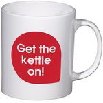 Cambridge Promotional Mug - Caption Design - Kettle