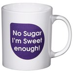 Cambridge Promotional Mug - Caption Design - Sweet Sugar