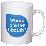 Cambridge Promotional Mug - Caption Design - Biscuit