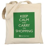 100% Cotton Promotional Shopper - Keep Calm Design