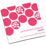 Q-Mat Coaster - Square - Polka Dot Design