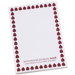 A7 25 Sheets Notepad - Leaf Design