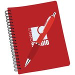 Pocket Buddy Notebook & Curvy Pen