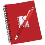 Pocket Buddy Notebook & Curvy Pen