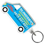 Promotional Shaped Keyring - Van - Full Colour