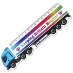 15cm Shaped Ruler - Lorry