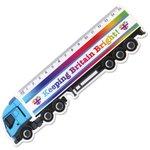 15cm Shaped Ruler - Lorry