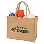 Natural Jute Shopper - 3 Day