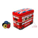 London Bus Tin - Jelly Rings
