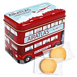 London Bus Tin - Shortbread Biscuits