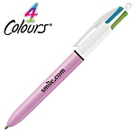 Bic® 4 Colour Pen - Fashion Colours