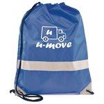 Reflective Hi Vis Drawstring Bag