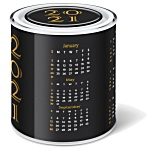 Calendar Desk Tidy Tin - Gourmet Jelly Beans