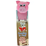 Animal Bug Bookmarks - Pig