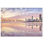 Wall Calendar - World in View