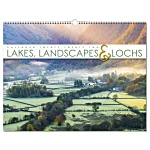 Wall Calendar - Lakes, Landscapes & Lochs