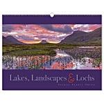 Wall Calendar - Lakes, Landscapes & Lochs
