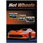 Wall Calendar - Hot Wheels