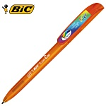BIC® Super Clip Pen - Clear - Full Colour Clip