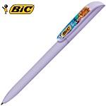 BIC® Super Clip Pen - Pastels -  Full Colour Clip