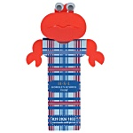 Fun Bookmarks - Crusty Crab