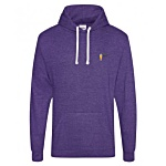 AWDis Heather Hoodie - Embroidered