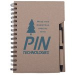 Eco-Notebook with Pen