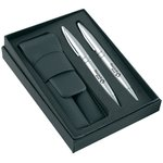 Waterford Pen & Roller Gift Box Set & Carry Pouch